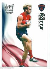 2016 Select Certified Base Card (136) Jack WATTS Melbourne