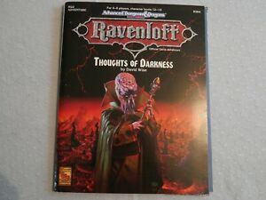 AD&D Ravenloft RQ2 THOUGHTS OF DARKNESS