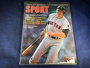 T3-18 SPORT MAGAZINE - JULY 1969 - LOU BROCK BOSTON RED SOX
