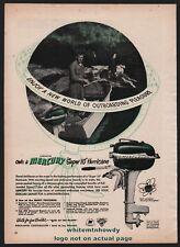 1951 MERCURY Kiekhaefer Super 10 Hurricane Outboard Motor Vintage AD