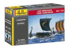 HELLER 80853 1:60th échelle Viking long bateau Leif Eriksson & TORF Karlsefni