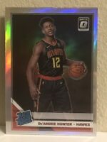 2019-20 Donruss Optic #198 De'Andre Hunter SILVER HOLO PRIZM Rated Rookie RC