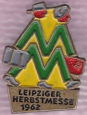 Leipziger Herbstmesse 1962 Messeabzeichen für Ausländer Gebauer 2010 Nr. 1962.6