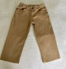 New Boys Size 12 Fashion Khaki Jeans Retail$23