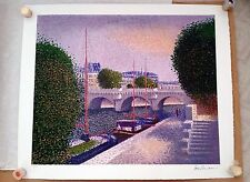 Jean Vollet - signed color lithograph