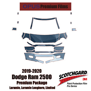 3M PRO Series Paint Protection PPF Kit for 2019-2020 Dodge Ram 2500 Limited