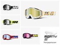 NEW 2019 100% Racecraft MIRROR Lens MX Motocross Offroad Goggles + TEAR OFF