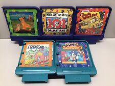 5 Vintage 1994 Sega Story Book Games