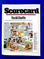 The Ali Shuffle Muhammad Ali Kobe Bryant L.A. Trip 1998 Original S.I Print