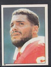 Topps 1981 American Football Sticker No 89 - Art Still - Chiefs (T437)