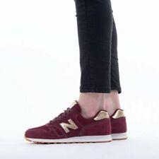 Womens New Balance 373 Running Sneaker WL373FA2 Burgundy Red Gold US 7 / UK 5