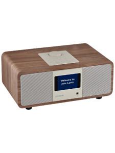 John Lewis Octave DAB/DAB+/FM/Internet Radio with Wireless Connectivity, Walnut