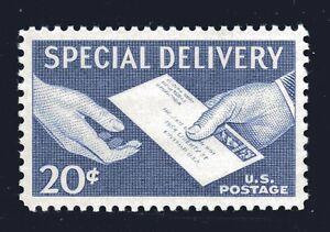 U.S. STAMP #E20 — 20c SPECIAL DELIVERY — SUPERB — MINT GRADED 98