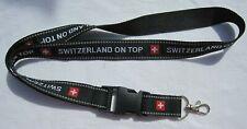 Switzerland on Top Schlüsselband Lanyard NEU (T123.1)