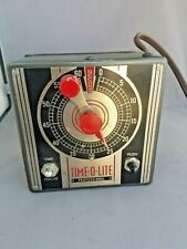 Time-O-Lite P-49 Enlarger Timer, Tested,1500 watt