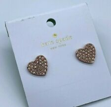 Kate Spade   ROSE Gold Tone Pearl with Pave Heart