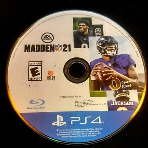 Madden NFL 21 (PlayStation 4, 2020) Disc Only # 41443