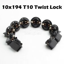 10xT10 168 194 2825 W5W 13mm Twist Lock For Instrument Panel Cluster Dash Light