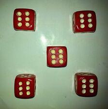 BELLRIGHT Valve caps (5pk) Novelty dice Style , D1 ,Old skool