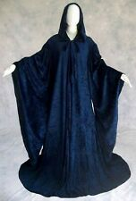 Hooded Wizard Robe w/ Sleeves Harry Potter Costume // Fantasy Cosplay Cloak Cape