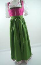 #Sportalm Dirndlkleid m.Schürze +Bluse rot-grün Baumwolle Mod.Wels Gr.42 wie NEU