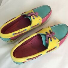 SEBAGO Dockside Women's Top Slider Slip On Boat Shoes Size 7.5W