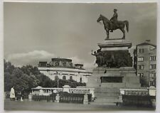 Bulgaria Sofia Monument to the Tsar Liberator 1960 Postcard (P319)