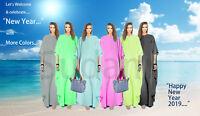 Women's Kaftan Dress Caftan Beach Cover Dashiki Boho Hippie Gown Maxi Plus size