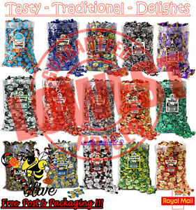 Walkers Nonsuch Toffee Retro Sweets Pick N Mix Wrapped Candy Party Bag Favours