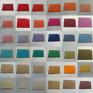 """12 pack THICK MULBERRY PAPERS choose A4, US LETTER, 12x12"""" BIG CHOICE OF COLOURS"""