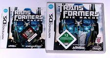 Spiel: TRANSFORMERS DIE RACHE DER AUTOBOTS für Nintendo DS + Lite + XL + 3DS 2DS