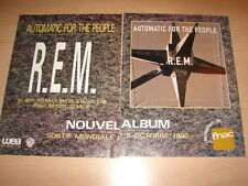 R.E.M - AUTOMATIC FOR THE PEOPLE!!!! PUBLICITE / ADVERT