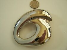 1 pcs Vintage (Never Used) Classic Silver Tone Fashion Belt Buckle