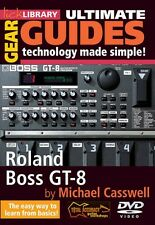 Roland Boss GT-8 Ultimate Gear Guides - Technology Made Simple! Lick L 000393068