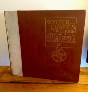 1900 Walter Cranes Picture Book - 1st & Rare Limited Edition 339/500 Aesop