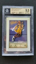 KOBE BRYANT 2001-02 FLEER AUTHENTIX FRONT ROW PARALLEL #11/100! BGS 9.5 GEM! #60