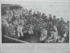 1916 SURVIVORS OF HMS NATAL EXPLOSION ROYAL NAVY WWI WW1