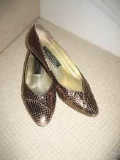 J Renee Vintage Chaussures Bronze ex. avec Gratuit p&p