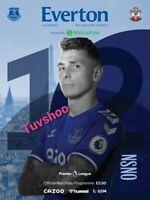 Everton v Southampton PREMIER LEAGUE Programme 1/3/21! IMMEDIATE DISPATCH!!!