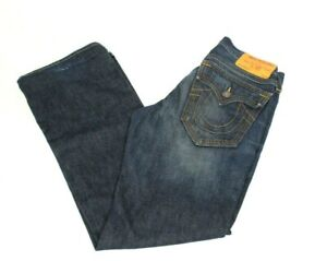 True Religion Men's Jeans Section Billy Denim Seat 34 Made In USA Size 32