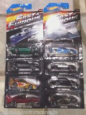 2015 FAST & THE FURIOUS SET OF 8 CARS by HOT WHEELS 1:64 BRAND NEW NEVER OPENED