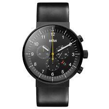 Braun BN0095BKG Mens Prestige Black Chronograph Watch RRP £500