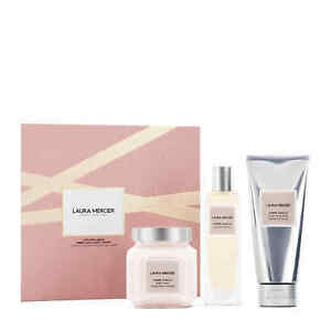 LAURA MERCIER AMBRE VANILLE LUXE BODY COLLECTION GIFT SET NEW BOXED WORTH £125!