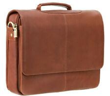 Visconti M Leder Laptop Aktentasche Business Arbeit Schultertasche' Alfie '659