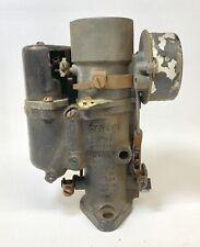 1935 Pontiac 8 Cylinder Carburetor Carter 315-S Old Rebuild