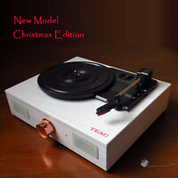 TEAC TTD107D Vinyl Record Belt Drive Turntable Bluetooth FREE Vinly & 2x Stylus