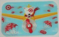 Target Gift Card Lenticular Bullseye in Plane, Moving Propeller - 2008 -No Value