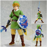 Figma153# The Legend of Zelda: Breath of The Wild Link Figure Model 14cm