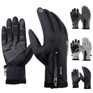 Winter Warm Gloves Touch Screen Windproof Anti-slip for Driving Sports Cycling