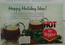 1964 hot Dr. Pepper happy holiday idea special offer cups vintage ad